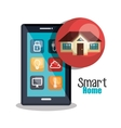 smart home design vector image