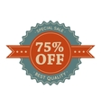 75 special sale vintage banner vector image