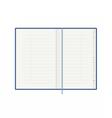 Address phone book with alphabet Organiser vector image