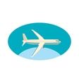 Cargo plane icon cartoon style vector image vector image