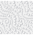 pearls seamless background vector image vector image