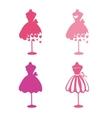 Dress mannequins vector image