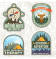 life is a journey never stop exploring outdoor vector image vector image