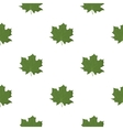 Maple Leaf icon in cartoon style for web vector image vector image