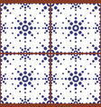 moroccan geometric seamless tile pattern vector image