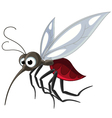 mosquito cartoon for you design vector image vector image