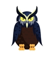 Owl icon in cartoon style vector image