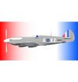 supermarine spitfire vector image vector image