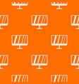 tv pattern seamless vector image vector image