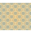 yellow and blue pattern vector image vector image