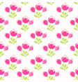 flowers bouquets seamless vector image