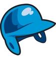 Batters Helmet vector image vector image