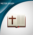 catholic icon design vector image vector image