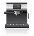 coffee maker 03 vector image vector image