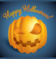 colorful halloween design card vector image