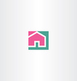 home sign symbol icon vector image vector image