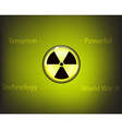 radioactive6 vector image vector image