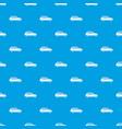 retro car pattern seamless blue vector image vector image