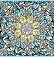 abstact floral geometric pattern arabic ornament vector image vector image