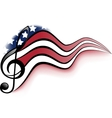 American Music Notes vector image