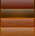 background with textures of wood vector image vector image