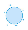 circle icon design vector image