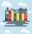 Cityscape at Daytime vector image