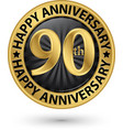 happy 90th years anniversary gold label
