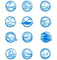 Icons of water vector | Price: 1 Credit (USD $1)