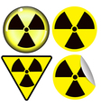 radioactive7 vector image vector image