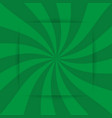 retro green ray background in vintage style and vector image vector image