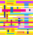 seamless abstract multicolored stripes geometry vector image