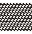 Seamless Black and White Interlacing Wavy vector image vector image