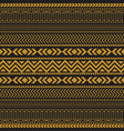tribal seamless pattern geometric seamless vector image