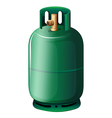 A gas cylinder vector image