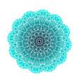 abstract design black white element round mandala vector image vector image