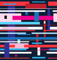 abstract multicolored pattern of unusually vector image vector image
