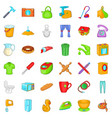 hammer icons set cartoon style vector image vector image