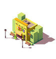isometric toy store vector image
