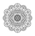 mandala decoration vector image vector image