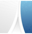 Modern business folder template - geometrical vector image