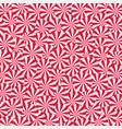 peppermint cream candies background spiral red vector image vector image