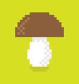 Pixel Mushroom vector image vector image