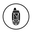 Portable GPS device icon vector image vector image