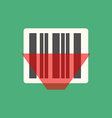 Barcode icon vector image