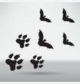bats icon vector image