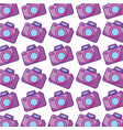 camera photographic pattern background vector image