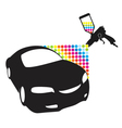 Car paint vector image