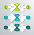 Pointer arrows Graphic or website layout vector image vector image
