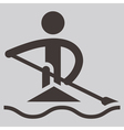 Rowing and Canoeing vector image vector image
